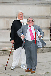 ** FILE PICTURE of Ronnie Corbett, who has died at the age of 85** <br /> © London News Pictures. Ronnie Corbett, Best of Britain's Creative Industries, Foreign & Commonwealth Office, London UK, 30 June 2014, Photo by Richard Goldschmidt/LNP