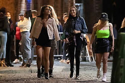 © Licensed to London News Pictures. 13/02/2020. Liverpool, UK. Drinkers out in Liverpool before the Tier 3 restrictions close bars and pubs from Wednesday. Photo credit: Kerry Elsworth/LNP