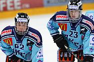 24.03.2011, Rapperswil-Jona, Eishockey NLA Playout, Rapperswil-Jona Lakers - HC Ambri-Piotta, Richard Tanner und Ronny Keller (LAK)  (Thomas Oswald/hockeypics)