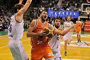 DESCRIZIONE : Treviso Lega due 2015-16  Universo Treviso De Longhi - Aurora Basket Jesi<br /> GIOCATORE : marco santiangeli<br /> CATEGORIA : Tiro penetrazione<br /> SQUADRA : Universo Treviso De Longhi - Aurora Basket Jesi<br /> EVENTO : Campionato Lega A 2015-2016 <br /> GARA : Universo Treviso De Longhi - Aurora Basket Jesi<br /> DATA : 31/10/2015<br /> SPORT : Pallacanestro <br /> AUTORE : Agenzia Ciamillo-Castoria/M.Gregolin<br /> Galleria : Lega Basket A 2015-2016  <br /> Fotonotizia :  Treviso Lega due 2015-16  Universo Treviso De Longhi - Aurora Basket Jesi