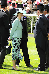 HRH The PRINCESS ROYAL at the first day of the 2010 Royal Ascot Racing festival at Ascot Racecourse, Berkshire on 15th June 2010.