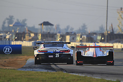 March 15, 2019 - Sebring, UNITED STATES OF AMERICA - 25 BMW TEAM RLL (USA) BMW M8 GTE GTLM TOM BLOMQVIST (GBR) CONNOR DE PHILLIPPI (USA) COLTON HERTA  (Credit Image: © Panoramic via ZUMA Press)