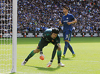 Football - 2017 Community Shield - Chelsea vs. Arsenal<br /> <br /> Alvaro Morata of Chelsea has his shot saved in the penalty shoot by goalkeeper Petr Cech at Wembley.<br /> <br /> COLORSPORT/ANDREW COWIE