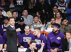 Pelicans at Lakers - 27 Feb 2019