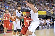 DESCRIZIONE : Berlino Berlin Eurobasket 2015 Group B Turkey Italy <br /> GIOCATORE :Bobby Dixon<br /> CATEGORIA :Penetrazione<br /> SQUADRA : Turkey<br /> EVENTO : Eurobasket 2015 Group B <br /> GARA : Turkey Italy<br /> DATA : 05/09/2015 <br /> SPORT : Pallacanestro <br /> AUTORE : Agenzia Ciamillo-Castoria/Mancini Ivan<br /> Galleria : Eurobasket 2015 <br /> Fotonotizia : Berlino Berlin Eurobasket 2015 Group B Turkey Italy