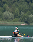 Aiguebelette, FRANCE.  NZL. Mahe DRYSDALE.  13:55:08  Sunday  22/06/2014. [Mandatory Credit; Peter Spurrier/Intersport-images]