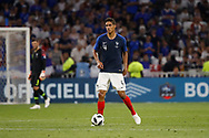 Raphaël Varane of France during the 2018 Friendly Game football match between France and USA on June 9, 2018 at Groupama stadium in Decines-Charpieu near Lyon, France - Photo Romain Biard / Isports / ProSportsImages / DPPI