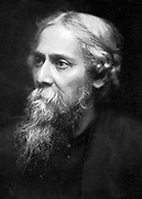 Rabindranath Tagore (1861-1941) Indian philosopher and poet.