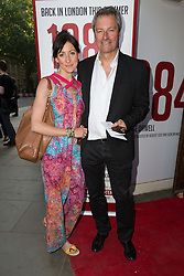 © Licensed to London News Pictures. 18/06/2015. London, UK. Gavin Esler arrives at the press night for 1984 at the Playhouse Theatre, Northumberland Avenue in London tonight. Photo credit : Vickie Flores/LNP