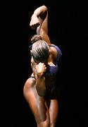 Spt11/21/04 Women Lead<br />Hamden High School, Bodybuilding Championship: Jeanette Fischetto competes. Photo by Mara Lavitt