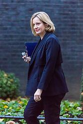 London, November 22 2017. Home Secretary Amber Rudd attends the UK cabinet meeting at Downing Street. © Paul Davey