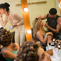 Behind the scenes of Miss Trans Israel pageant, Tel Aviv. May 27, 2016. Photo by Michal Fattal