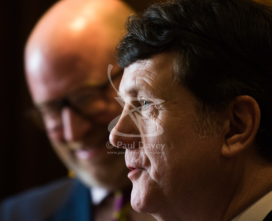Westminster, London, March 27th 2017. Ahead of the Prime Minister triggering Article 50 next week, UKIP Leader Paul Nuttall sets out six key tests by which the country can judge Theresa May's Brexit negotiations in a keynote speech in London. PICTURED: Gerard Batten MEP. CREDIT: ©Paul Davey<br /> <br /> ©Paul Davey<br /> FOR LICENCING CONTACT: Paul Davey +44 (0) 7966 016 296 paul@pauldaveycreative.co.uk