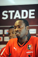 FOOTBALL - MISCS - FRENCH CHAMPIONSHIP 2010/2011 - STADE RENNAIS - 29/06/2010 - PHOTO PASCAL ALLEE / DPPI - PRESENTATION NEWS PLAYERS OF RENNES - ONYEKACHI APAM