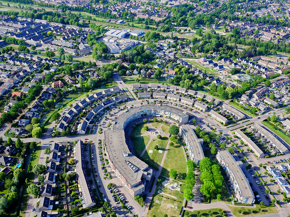 Nederland, Gelderland, Gemeente Duiven, 14–05-2020; nieuwbouwwijk Duiven-Zuidoost.<br /> <br /> luchtfoto (toeslag op standaard tarieven);<br /> aerial photo (additional fee required)<br /> copyright © 2020 foto/photo Siebe Swart