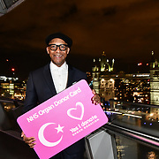 Jay Blades attend The BAME Donor Gala - Awareness gala hosted by the Health Committee with live music and poetry performances at City Hall at The Queen's Walk, London, UK. 18 March 2019.