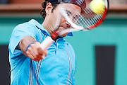 Roland Garros. Paris, France. June 3rd 2007..Roger FEDERER against Mikahail YOUZHNY.