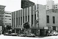 1987 Ontra Cafeteria on Vine St.