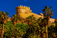 Castle of San Miguel, Almunecar, Costa Tropical, Granada Province, Andalusia, Spain.