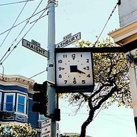 Haight and Ashbury Streets