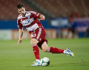 FRISCO, TX - JUNE 12:  Kenny Cooper #33 of FC Dallas controls the ball against the Houston Dynamo on June 12, 2013 at FC Dallas Stadium in Frisco, Texas.  (Photo by Cooper Neill/Getty Images) *** Local Caption *** Kenny Cooper