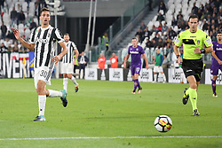 September 20, 2017 - Turin, Piedmont, Italy - Rodrigo Bentancur (Juventus FC) during the Serie A football match between Juventus FC and ACF Fiorentina at Allianz Stadium on 20 September, 2017 in Turin, Italy. .Juventus win 1-0 over Fiorentina. (Credit Image: © Massimiliano Ferraro/NurPhoto via ZUMA Press)