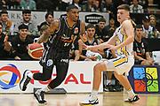 Taylor Hawks Devondrick Walker in action in the Sal's NBL Basketball match, Taylor Hawks v EnviroNZ Bulls, Pettigrew Green Arena, Napier, Saturday, June 26, 2021. Copyright photo: Kerry Marshall / www.photosport.nz