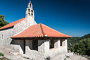 Church at Korita, Mljet Island, Dalmatian Coast, Croatia