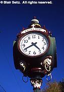 Historic clock, Eagles Mere, NE PA resort town