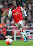 Arsenal's Eddie Nketiah during the Premier League match at the Emirates Stadium, London. Picture date: 7th March 2020. Picture credit should read: Paul Terry/Sportimage