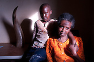 A mother and child in Rwanda.