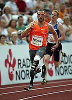Friidrett , 3. juli 2009 , Golden League , Bislett Games , <br /> <br /> Oscar Pistorius