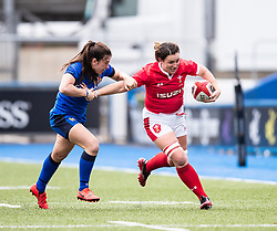 Siwan Lillicrap of Wales<br /> <br /> Photographer Simon King/Replay Images<br /> <br /> Six Nations Round 1 - Wales Women v Italy Women - Saturday 2nd February 2020 - Cardiff Arms Park - Cardiff<br /> <br /> World Copyright © Replay Images . All rights reserved. info@replayimages.co.uk - http://replayimages.co.uk