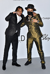 Tyga and Alec Monopoly attend the 2018 amfAR Gala on May 17, 2018 in Cap D'Antibes, France. Photo by Lionel Hahn/ABACAPRESS.COM