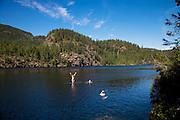 Cassel Lake, Teakearne Arm, Desolation Sound, British Columbia, Canada