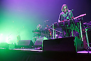 Other Lives performing in support of Radiohead at the Scottrade Center in St. Louis, Missouri on March 9, 2012.