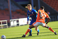 Andy Cannon  during the EFL Sky Bet League 1 match between Blackpool and Rochdale at Bloomfield Road, Blackpool, England on 6 October 2018.