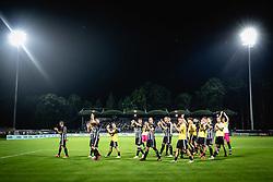 during football match between NS Mura and KF Shkëndija in 1st qualifying round of UEFA Champions League, on 13th of July, 2021 in Mestni stadion Fazanerija, Murska Sobota, Slovenia. Photo by Blaž Weindorfer / Sportida