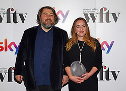 Ben Wheatley presented Sara Bennett with the Technicolor Creative Technology Award at the Women in Film & TV Awards at the Hilton hotel in central London.