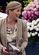© Licensed to London News Pictures. 02/07/2012. East Molesey, UK HRH Sophie Countess of Wessex. The RHS Hampton Court Palace Flower Show 2012. The show runs 3-8 July, 2012. Photo credit : Stephen Simpson/LNP