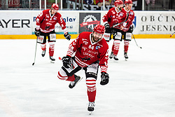 HEBAR Andrej celebrates goal during Alps League Ice Hockey match between HDD SIJ Jesenice and HK SZ Olimpija on March 2, 2020 in Ice Arena Podmezakla, Jesenice, Slovenia. Photo by Peter Podobnik / Sportida