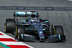 February 18, 2019 - Barcelona, Catalonia, Spain - February 18, 2019 - Circuit de Barcelona-Catalunya, Montmelo, Spain - Formula One preseason 2019; Valtteri Bottas of Mercedes AMG Petronas Formula One Team during the morning session of the day 1. (Credit Image: © Eric Alonso/ZUMA Wire)