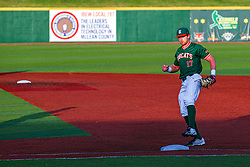 16 July 2020: Jake McCaw during a Kernel League Baseball game between the Bobcats and the Hoots at Corn Crib Stadium on the campus of Heartland Community College in Normal Illinois