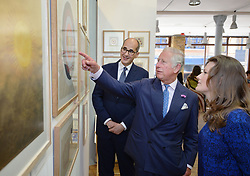 July 7, 2017 - London, London, United Kingdom - Image licensed to i-Images Picture Agency. 05/07/2017. London, United Kingdom. The Prince of Wales  at The Prince's School of Traditional Arts in east London. Picture by ROTA / i-Images UK OUT FOR 28 DAYS (Credit Image: © Rota/i-Images via ZUMA Press)