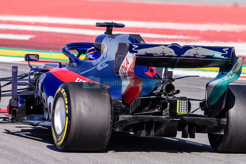 February 26, 2019 - Barcelona, Barcelona, Spain - Toro Rosso  aerodinamic detail of rear difussor  during the Formula 1 2019 Pre-Season Tests at Circuit de Barcelona - Catalunya in Montmelo, Spain on February 26. (Credit Image: © AFP7 via ZUMA Wire)