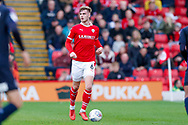 Barnsley defender Liam Lindsay (6)  during the EFL Sky Bet League 1 match between Barnsley and Luton Town at Oakwell, Barnsley, England on 13 October 2018.