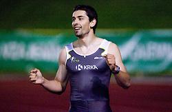Sprinter Gregor Kokalovic of Krka at 4th Memorial of Matic Sustersic and Patrik Cvetan athletic meeting of Grand Prix Vzajemna, on June 1, 2009, in ZAK, Ljubljana, Slovenia. (Photo by Vid Ponikvar / Sportida)