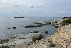 02-12-2014 CYP: We Bike 2 Change Diabetes Cyprus 2014, Pafos<br /> Vandaag de vierde etappe (86 km) van Polis naar Pafos / Zee, strand, Rotsen