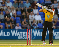 Gloucestershire's Michael Klinger in action today <br /> <br /> Photographer Simon King/Replay Images<br /> <br /> Vitality Blast T20 - Round 8 - Glamorgan v Gloucestershire - Friday 3rd August 2018 - Sophia Gardens - Cardiff<br /> <br /> World Copyright © Replay Images . All rights reserved. info@replayimages.co.uk - http://replayimages.co.uk