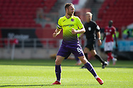 Exeter City's Jake Taylor (8) during the EFL Cup match between Bristol City and Exeter City at Ashton Gate, Bristol, England on 5 September 2020.